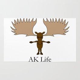 AK Life Moose Rug