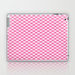 Pink Roses in Anzures 1 Gingham 1 Laptop & iPad Skin