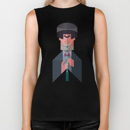 The 2nd Doctor Who Biker Tank