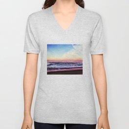 Unicorn Beach Unisex V-Neck