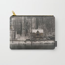 House On Lake Bled Carry-All Pouch