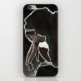 Africa Thinking iPhone Skin