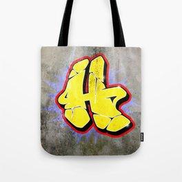 H - Graffiti letter (Wild Style) Tote Bag