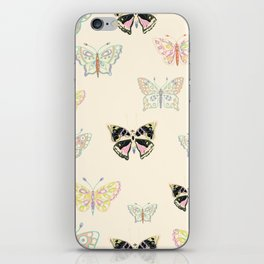 Petite Butterflies Collection iPhone Skin