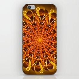 The mandala of energy iPhone Skin
