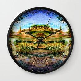 Garden of Riches Wall Clock