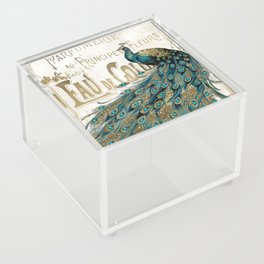 Peacock Jewels Acrylic Box