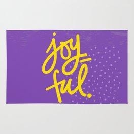 The Fuel of Joy Rug