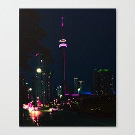 Lost in Toronto Canvas Print