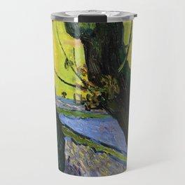 1888-Vincent van Gogh-The sower-32x40 Travel Mug
