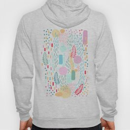 Abstract Nature - Colourful Doodle Pattern 3 Hoody