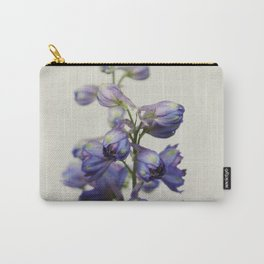 Delphinium Carry-All Pouch