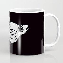 Molly Fish in Black Coffee Mug