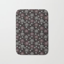 Cherry Blossom Pattern Bath Mat