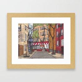 New York Stroll Framed Art Print