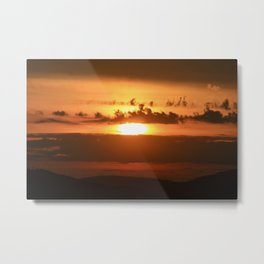 BC Sunsets Metal Print