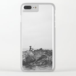 #169Photo #186 #QuiteTime and swimming Clear iPhone Case