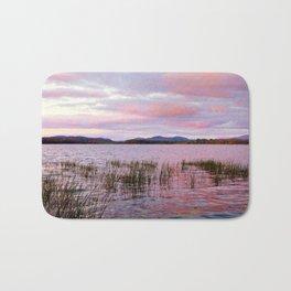 Sunset over Raquette Lake Bath Mat