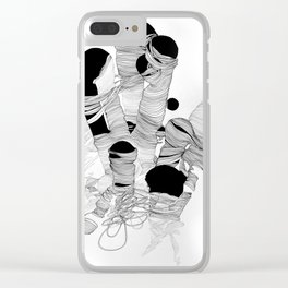 Growth Two Clear iPhone Case