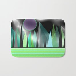 Northern Lights - Landscape Bath Mat
