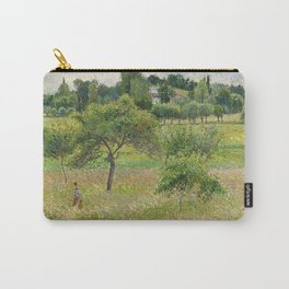 "Camille Pissarro ""Apple trees in Éragny"" (""Pommiers à Éragny"") Carry-All Pouch"