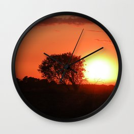 Catalan Savannah Wall Clock