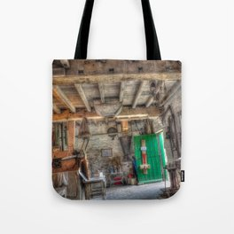 New Hall Water Mill Tote Bag