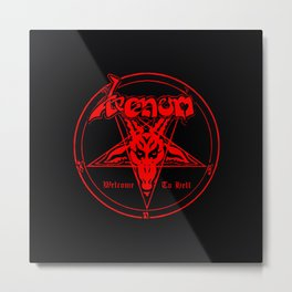 venom metal music Metal Print