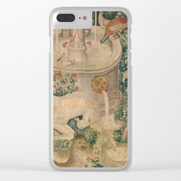 The Hunt of the Unicorn Clear iPhone Case
