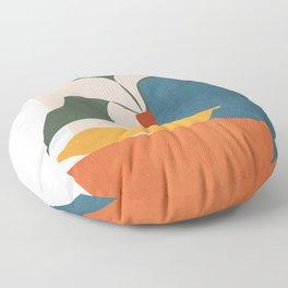 Minimalist Still Life Art Floor Pillow