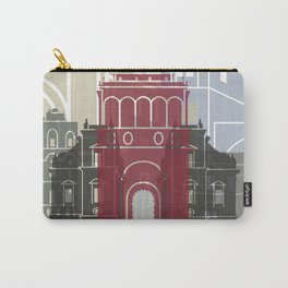 Palermo skyline poster Carry-All Pouch