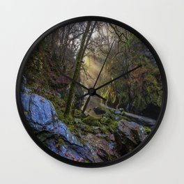 Magical Fairy Glen Wall Clock