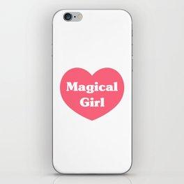 Heart Magical Girl iPhone Skin