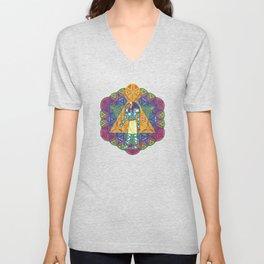 Sacred Geometry Thoth Mandala II Unisex V-Neck