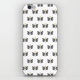 Panda King [Pattern] iPhone Skin