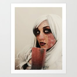 Liz Borden Art Print