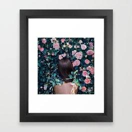 Inner Silence State of Mind Framed Art Print