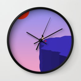 Cliff//Rose Wall Clock