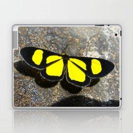 Yellow Butterfly Laptop & iPad Skin