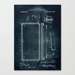 1911 - Pool and billar table stretcher Canvas Print