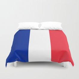 Flag of France, HQ image Duvet Cover