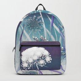 Wild Carrot - blue Backpack