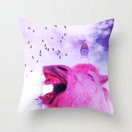 Surreal pov Throw Pillow