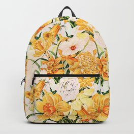 Wordsworth  and the daffodils. Backpack