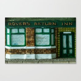 Rovers Return, Coronation Street in Miniature Canvas Print