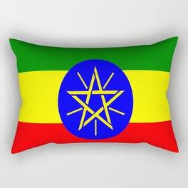 Flag of Ethiopia Rectangular Pillow