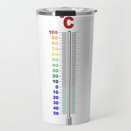 A Temperature Thermometer Travel Mug