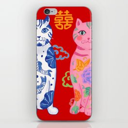 Double Happiness: When Ming Meets Qing iPhone Skin
