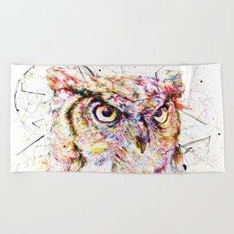 Owl // Ahmyo Beach Towel