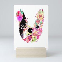 gilbert the frenchie Mini Art Print